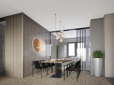 400平力旺现代风格-四室一厨三厅三卫