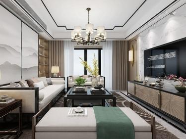 130平淞泽家园新中式风格-传统亦是传承