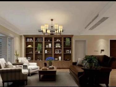 300平品尊国际美式风格-品尊国际小区300平米美式装修案例