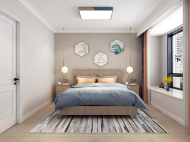 100平蔚蓝四季北欧风格-蔚蓝四季小区100平米3室北欧装修案例