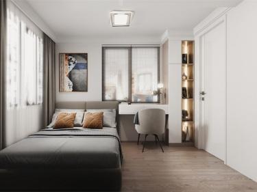 76平阳明广场现代风格-温馨舒适富有童趣的家