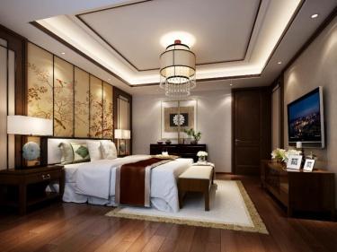 260平水岸清华新中式风格