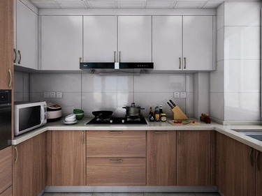 150平中铁花语江南现代风格-中铁花语江南小区150平米现代装修案例